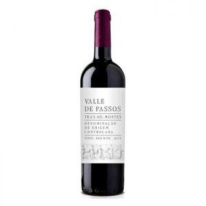 VALOR GASTRONÓMICO - Vinho Tinto - Valle de Passos Tinto 2016 - 0,75L