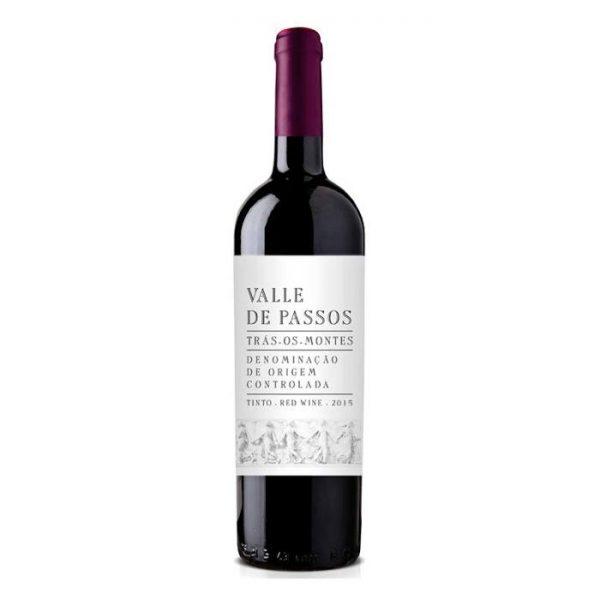 VALOR GASTRONÓMICO – Vinho Tinto – Valle de Passos Tinto 2016 – 0,75L